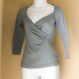 Banana Republic XS Periwinkle Long Sleeve Wrap